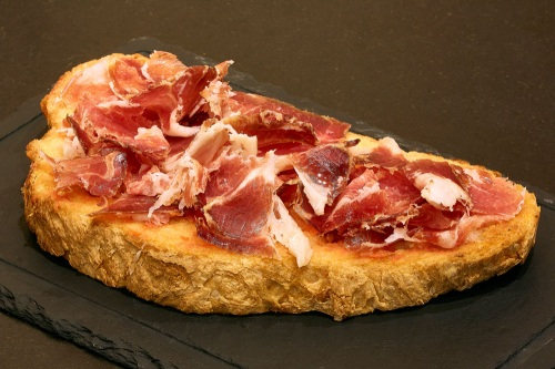 tabla jamon iberico